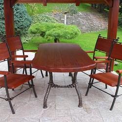 775a61a6710a9 Stoly, stoličky a lavičky   Umelecké kováčstvo Ukovmi